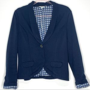 Boden Navy Blue Blazer Size 12